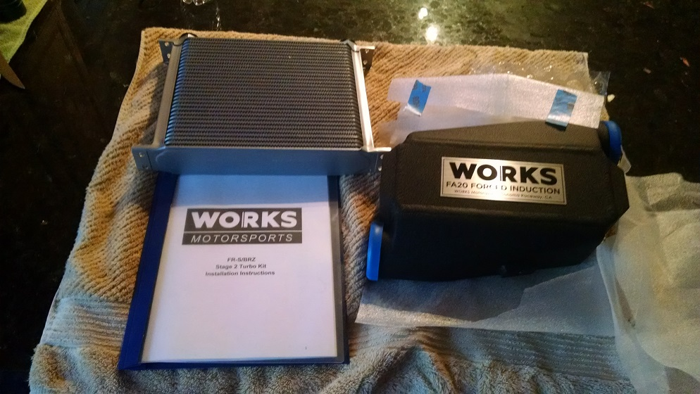 WORKS Stage 2 Turbo Kit - Now CARB Compliant/SMOG Legal