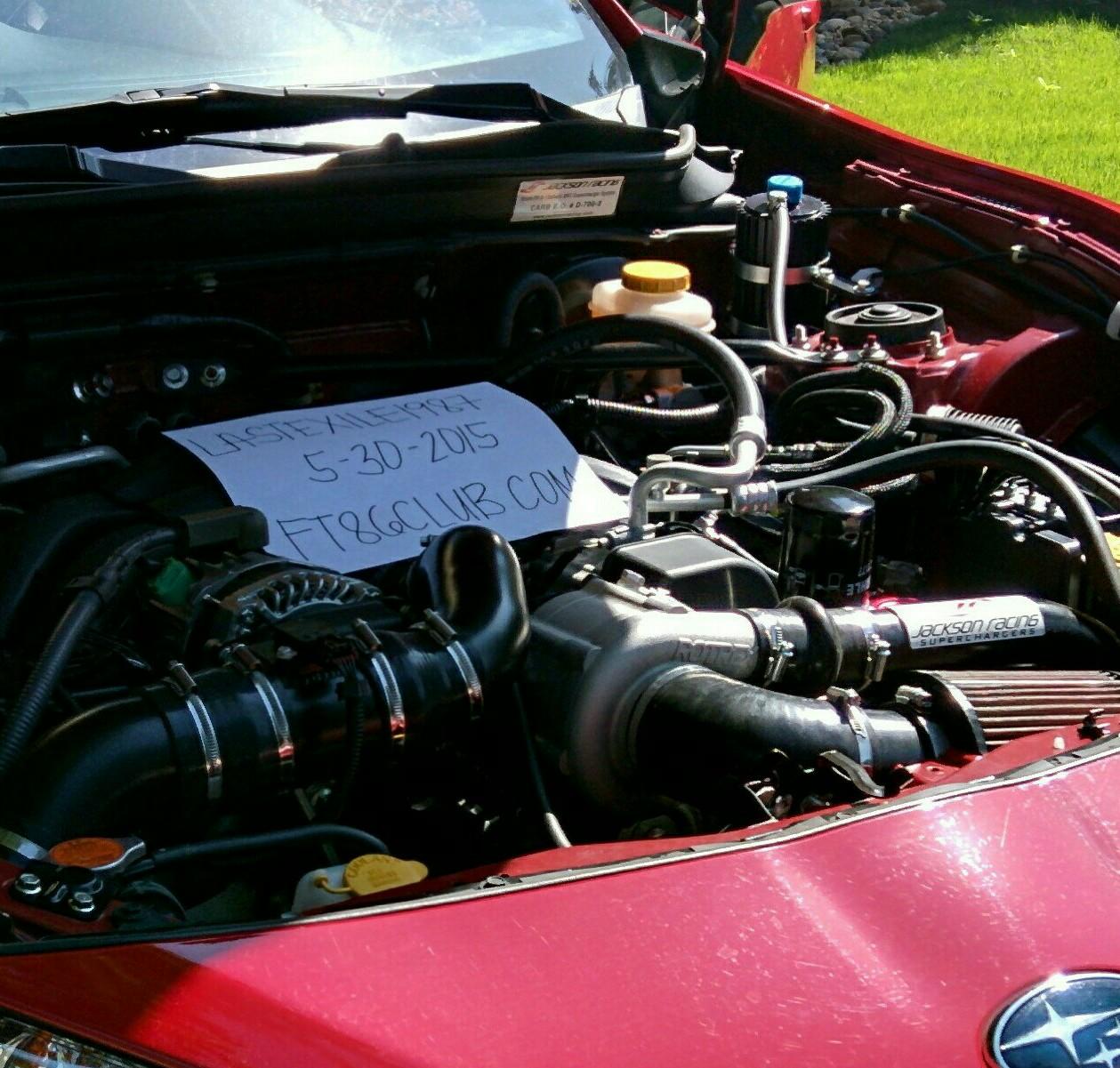 FS: Jackson Racing Supercharger - Scion FR-S Forum   Subaru