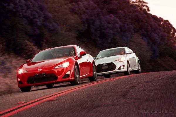 Insideline: Hyundai Veloster Turbo vs Scion FR-S - Scion FR-S Forum
