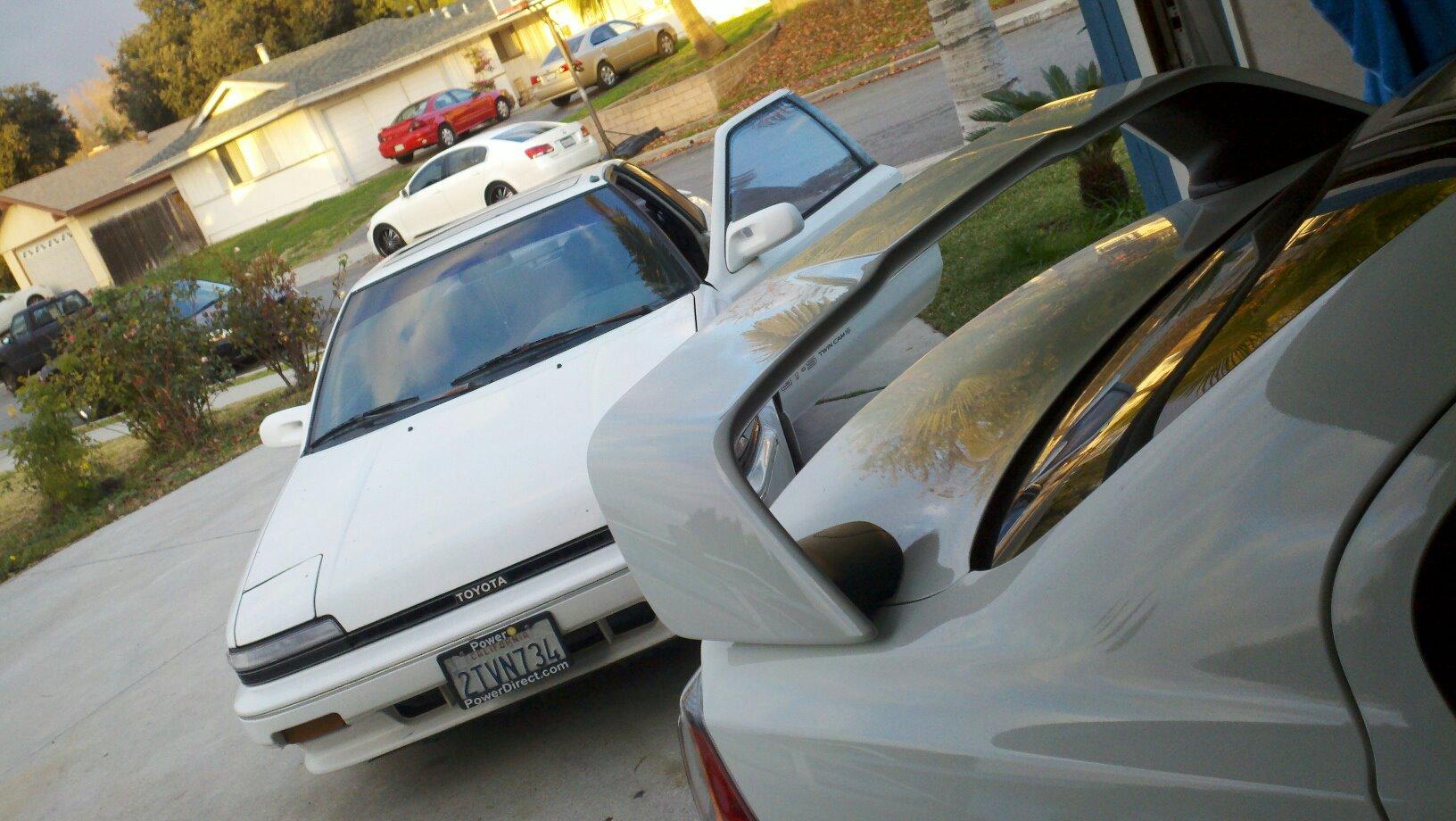 CA: Toyota Corolla GTS: AE92 - Scion FR-S Forum | Subaru BRZ Forum