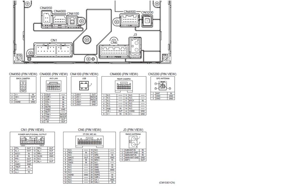Charming Fujitsu Ten Toyota Wiring Diagram Gallery - Electrical ...