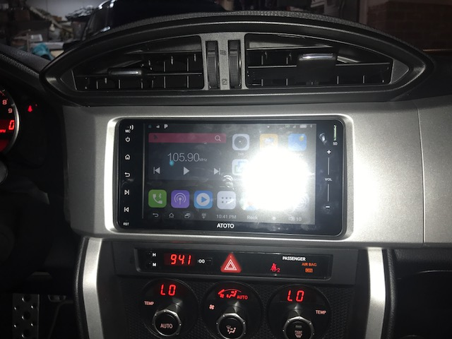 Atoto A6 200mm head unit - Scion FR-S Forum | Subaru BRZ