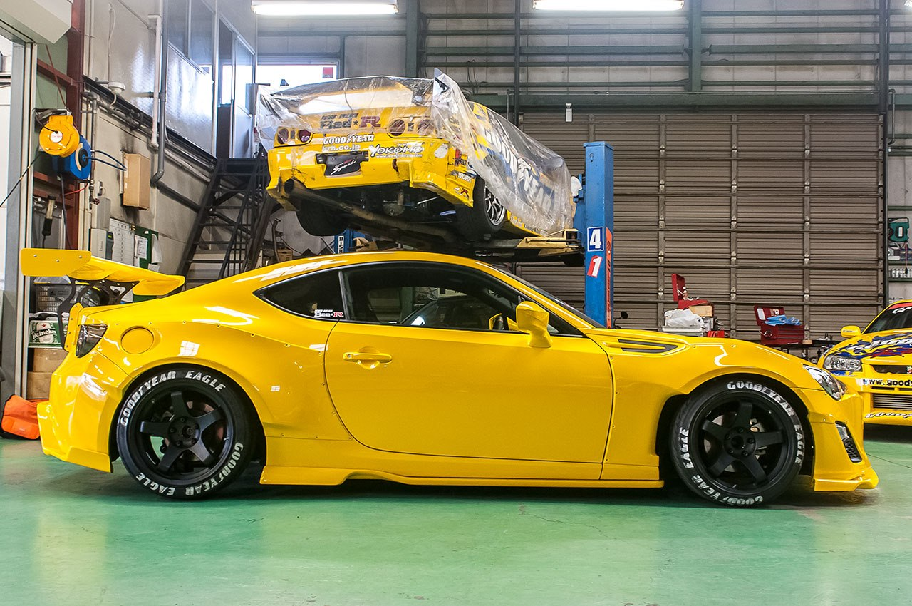 yellow rocket bunny video and pics   scion fr s forum