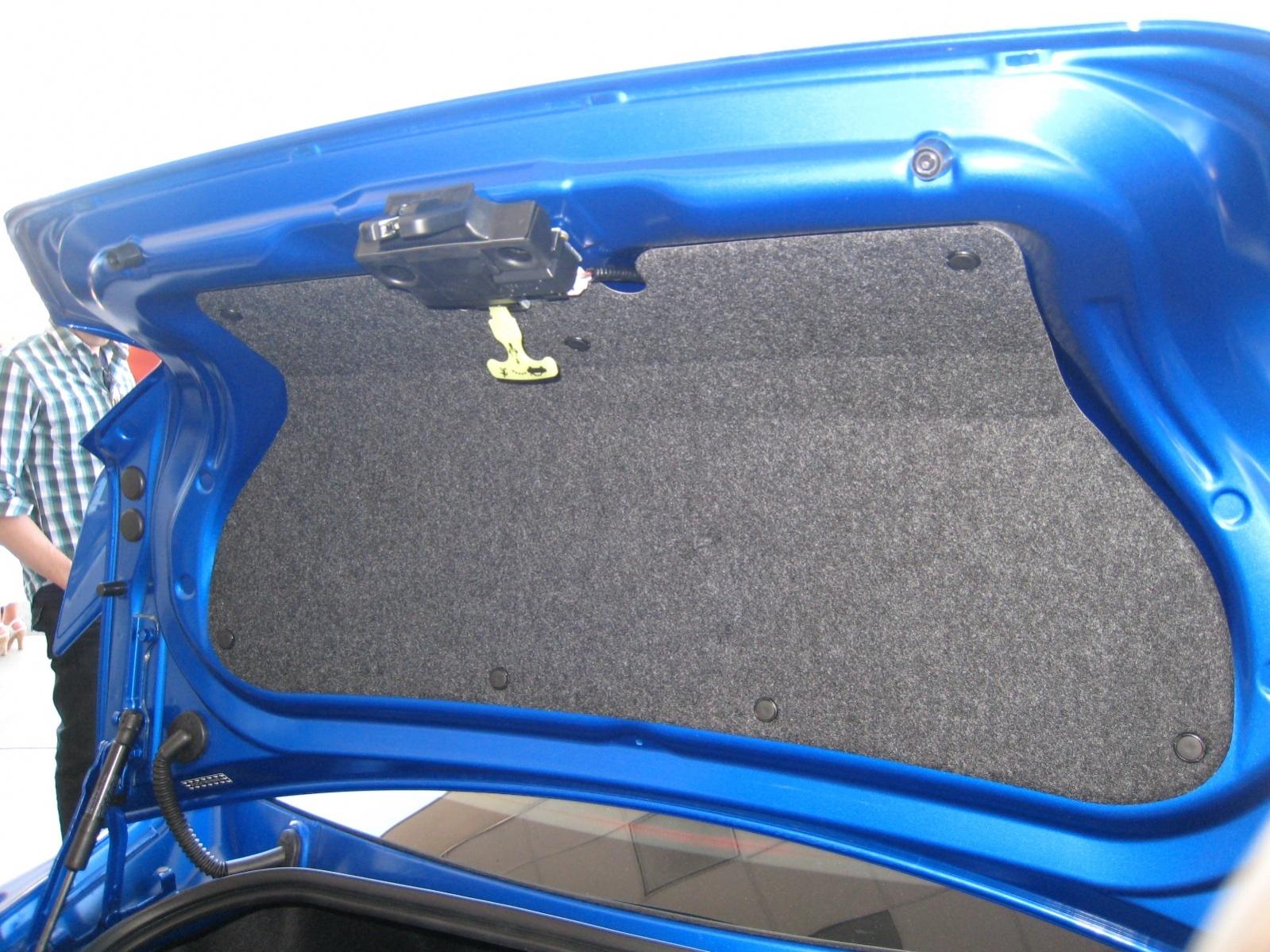 Trunk Hood Liner Scion Fr S Forum Subaru Brz Forum