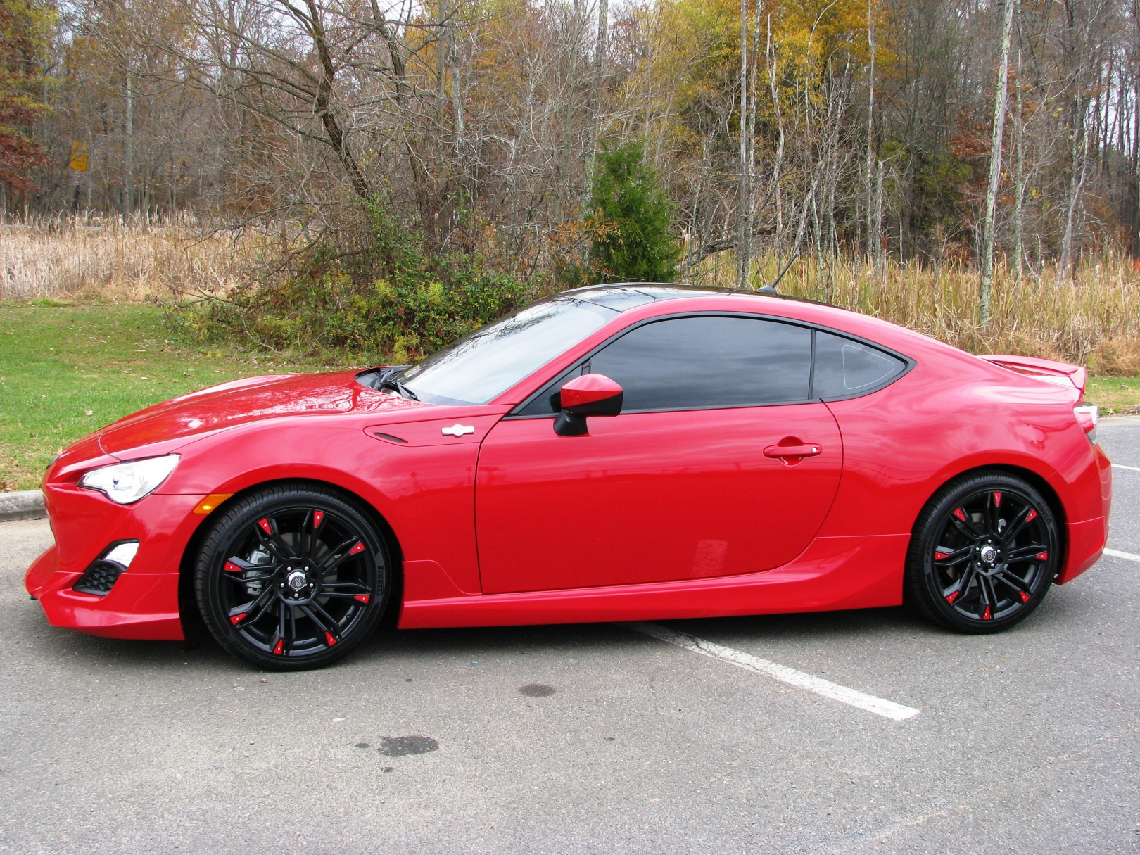 The Gallery For Gt Scion Fr S 2013 Red