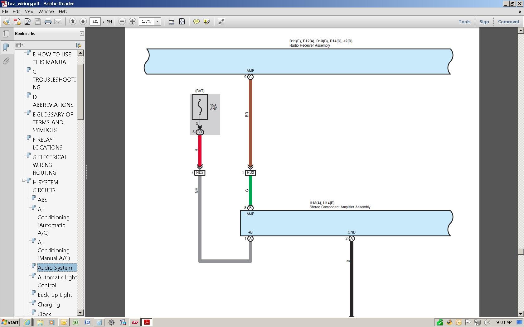 Brz Fujitsu Wiring Diagram Library Factory Remote Amp Turn On Page 2 Scion Fr S Forum Subaru