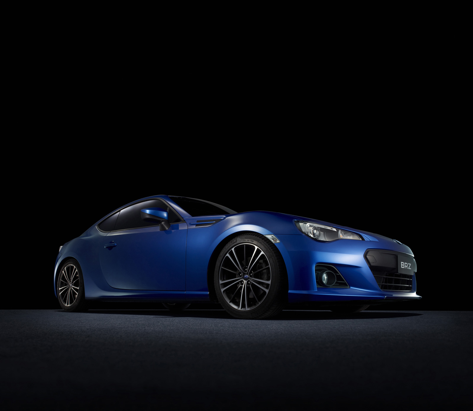 Subaru BRZ High Resolution Wallpapers in World Rally Blue