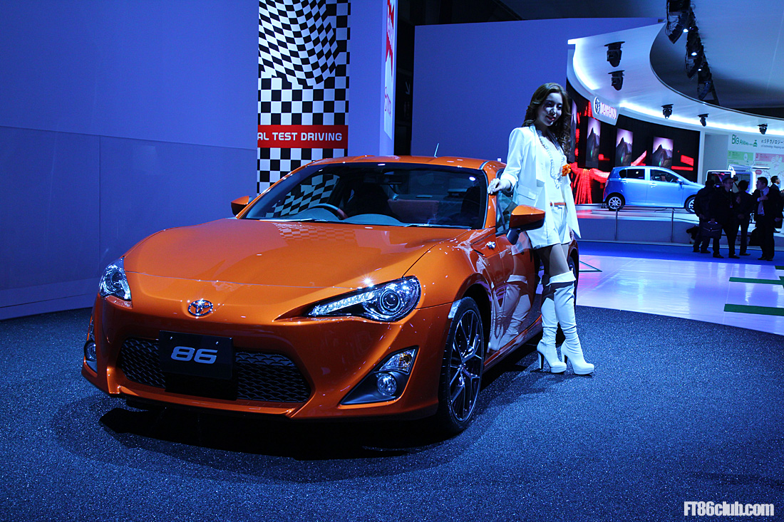 Toyota Ft 86 >> Live coverage of Toyota 86 at the 2011 Tokyo Motor Show by Scion FR-S Forum / Subaru BRZ Forum ...