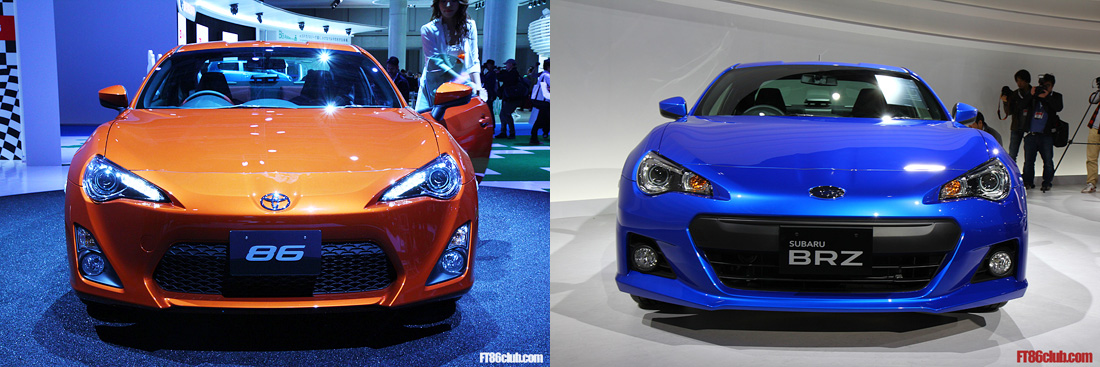 time for battle brz vs 86 poll w comparison photos scion fr s forum subaru brz forum. Black Bedroom Furniture Sets. Home Design Ideas