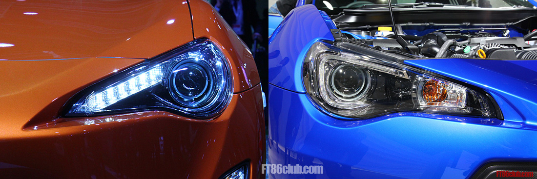 Noob Question Will You Be Able To Swap Brz And 86 Headlights Scion Fr S Forum Subaru Brz