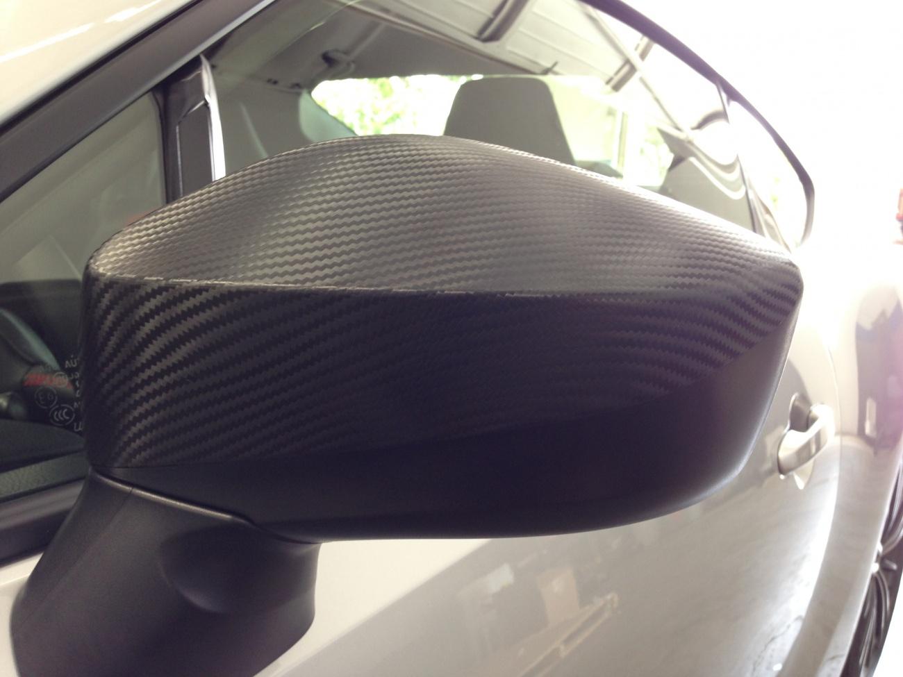 Carbon Fiber Vinyl Mirrors - Scion FR-S Forum | Subaru BRZ ...