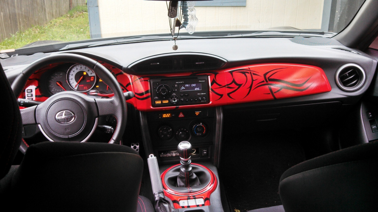 Scion frs interior wrap for Scion frs interior accessories