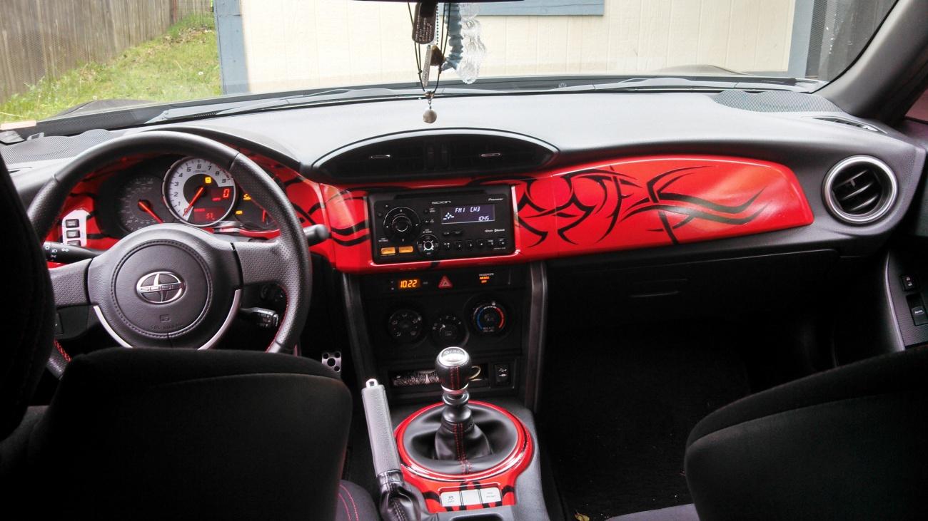My Custom Dash In My Frs Scion Fr S Forum Subaru Brz Forum Toyota 86 Gt 86 Forum As1