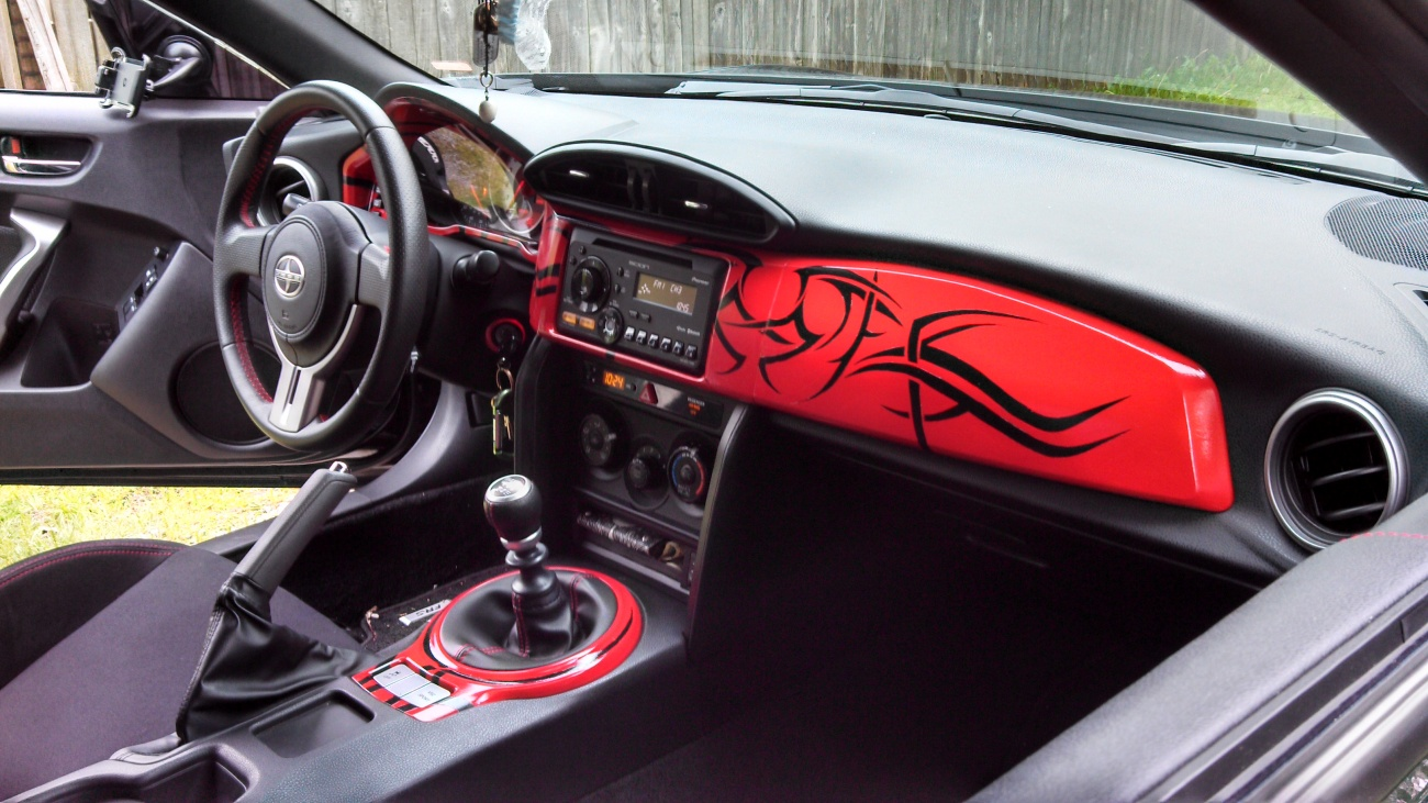 VWVortex.com - Custom Dash for Scion FR-S