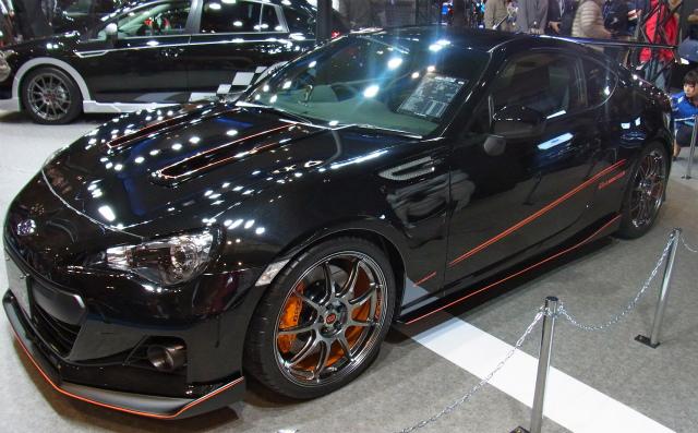 Subaru Brz Sti Concept And Prova Brz Black Edition From The Tas 2012