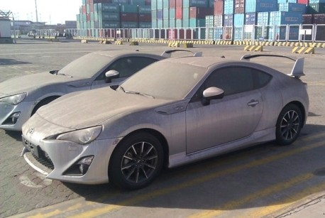Acura Of Westchester >> Toyota GT 86 arrives in China, very Dusty, with a Big Wing ...