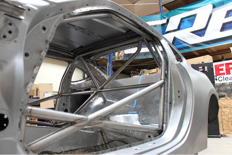 New Photos Of The 600hp Greddy Fr S Build Roll Cage