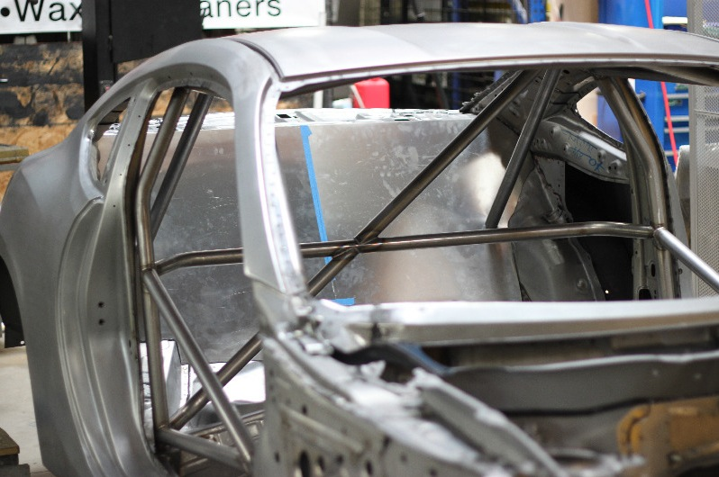 New photos of the 600hp Greddy FR-S build - Roll cage