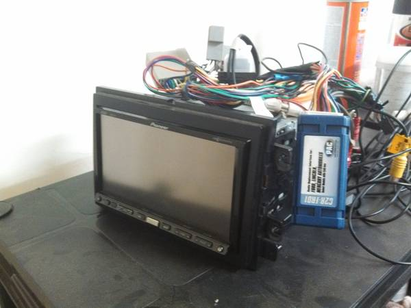 Pioneer Avic Z3 Nav Headunit with 80GB HDD, PAC & New Maps