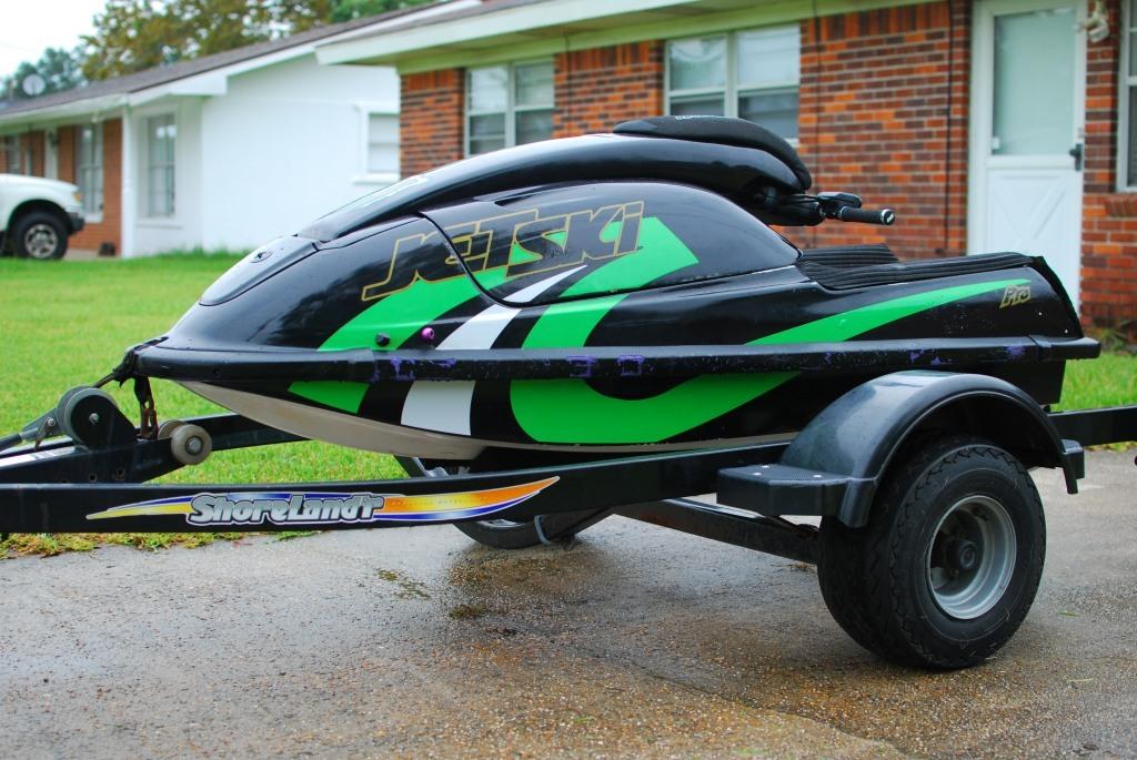 Project Standup Jet Ski Hull & Trailer (Mississippi) - Scion