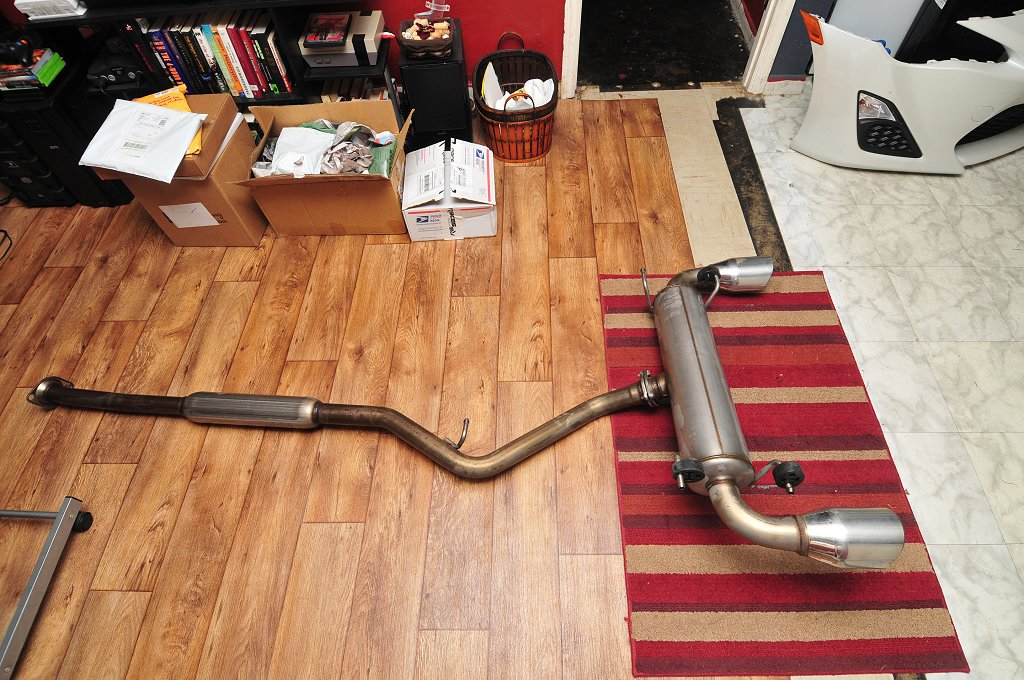 SOLD Used TRD Exhaust Auction  Scion FRS Forum  Subaru BRZ