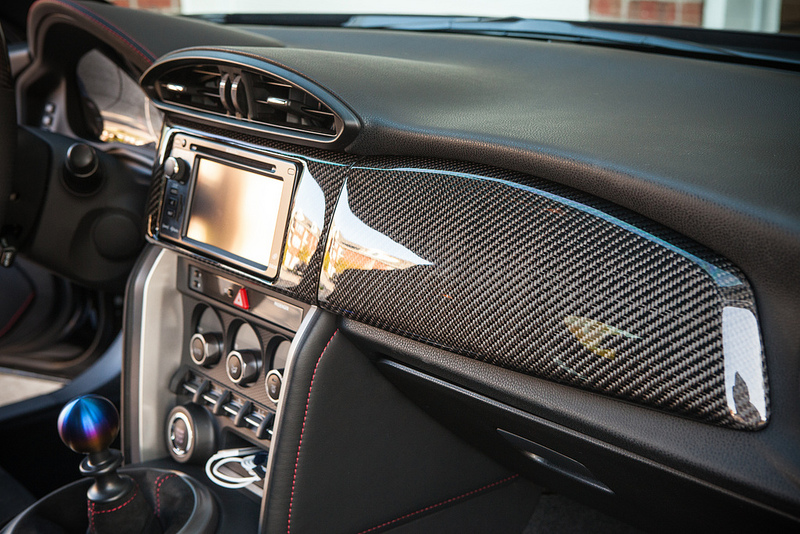 Brz carbon fiber interior trim for Scion frs interior accessories