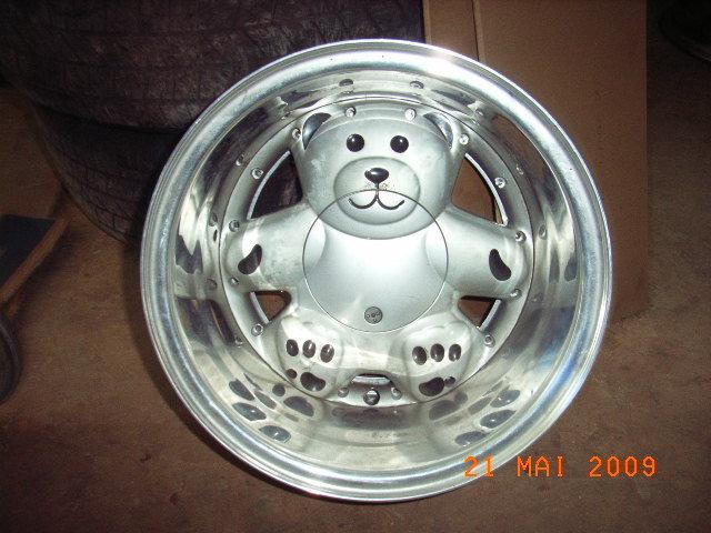 96 Ronal Teddy Bear Wheels Ebay Ronal Urs Teddy Silver Alloy