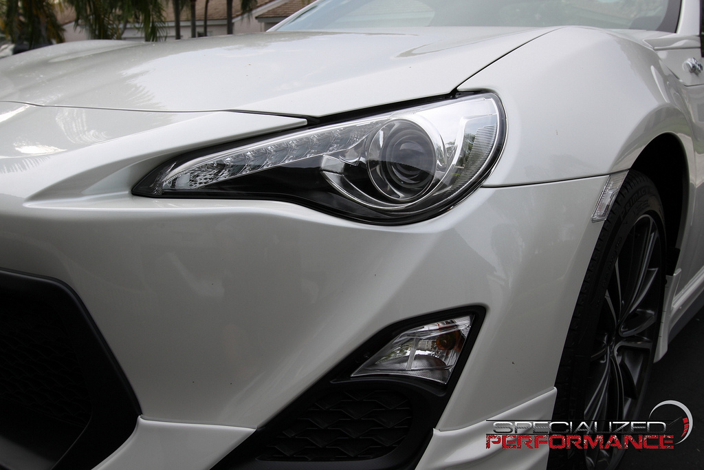 Blacked Out Headlights on FR-S