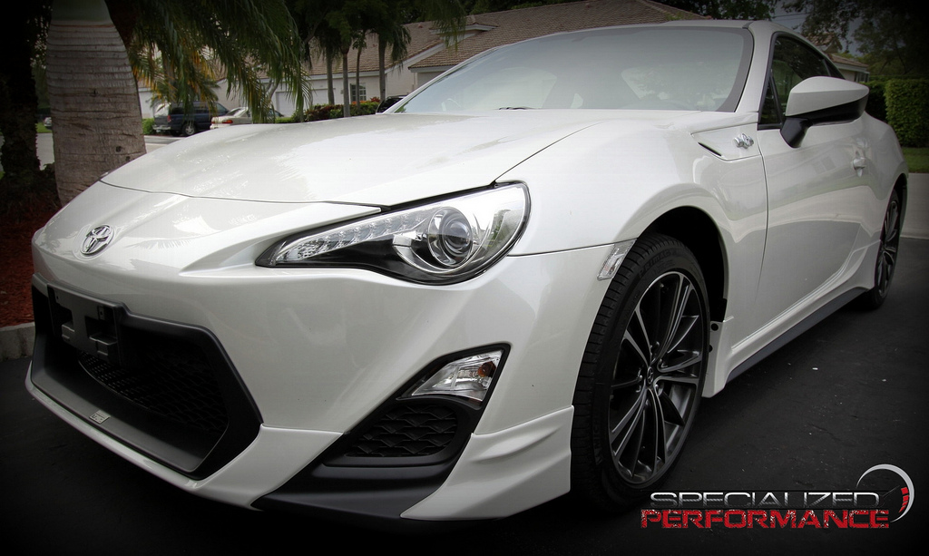 Scion Fr S With Trd Kit And Jdm Headlights
