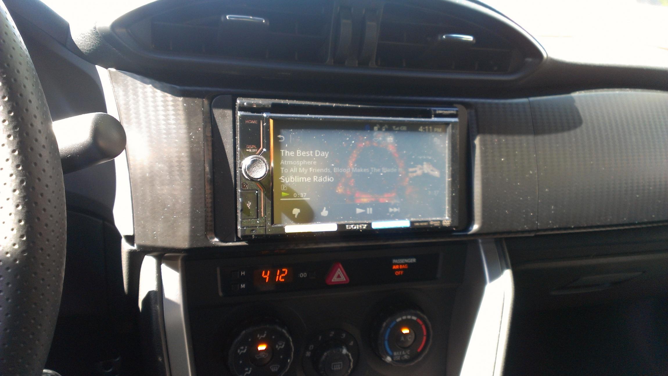 Sony MirrorLink (XAV601BT) - Page 2 - Scion FR-S Forum
