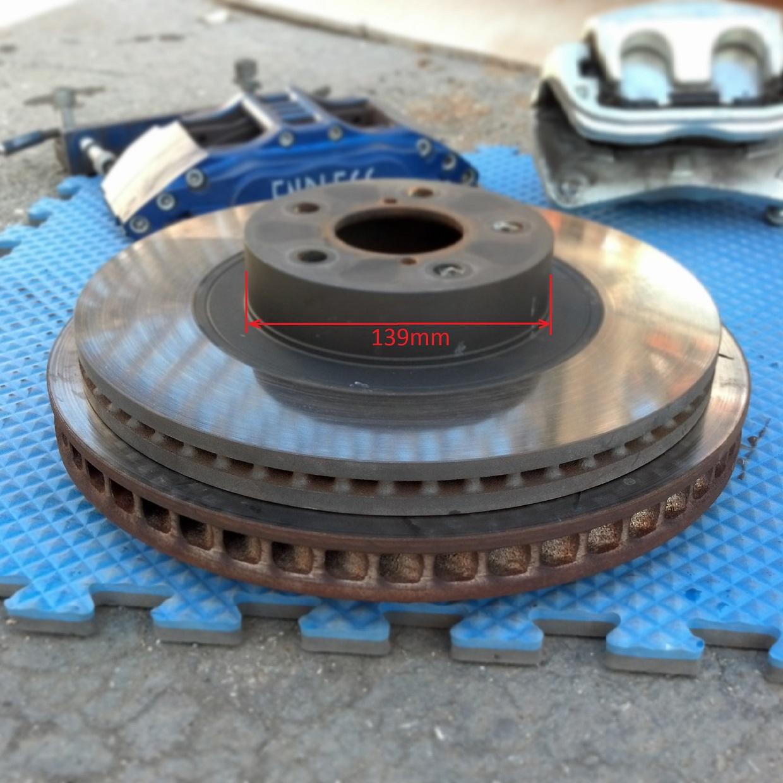 5 Lug Rotor to 4 Lug Rotor Drill Template 5x114.3 to 4x114.3-5x4.5 to 4x4.5
