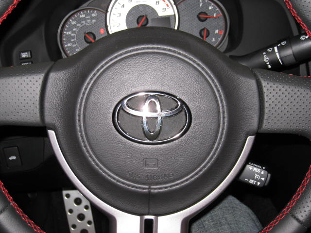 request how to steering wheel badge scion fr s forum. Black Bedroom Furniture Sets. Home Design Ideas